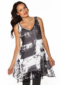 On ideeli: STELLA CARAKASI Sleeveless Printed Tunic