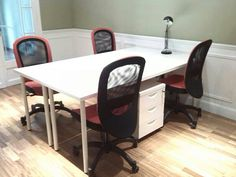 Mesa y espacio compartido