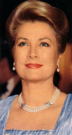 Princess Grace pictured in July 1981...Even when she was older she still possessed beauty and poise.