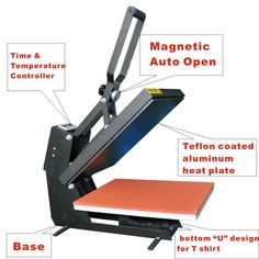 All kinds of Heat Presses Machine - Manual or Auto Release