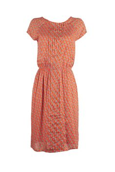 H2O/Irrigatie dress in orange, Wow To Go! SS015 collection.