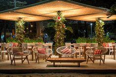 QUIOSQUE_COISA DE CARIOCA27 Rio, Urban Planning, Urban Design, Land Scape, Pergola, Outdoor Structures, Table Decorations, Outdoor Decor, Home Decor