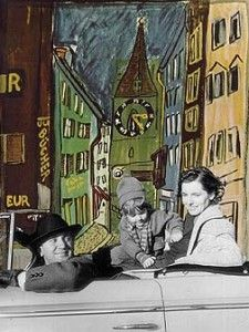 Ludwig Bemelmans and family