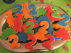 Brooks 2 year old dino party!