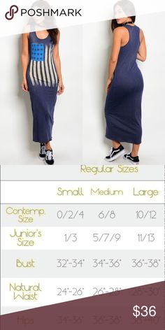 🆕 Navy American Flag Graphic Tank Maxi Dress New with tags. Navy blue racerback tank maxi dress with the American Flag across the front. Perfect for summer holidays, Memorial Day Weekend, July 4th.                                                          🌸60% cotton, 40% polyester.                                                           🌸Made in USA.                                                                            ❌SORRY, NO TRADES. The O Boutique Dresses Maxi