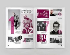 Brilliant Magazine Table Of Contents Design 44