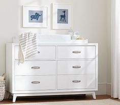 Harper Dresser  Topper #pbkids  This matches the Harper Crib. Or could mix and match with an option like the Bungalow 5 Dresser.