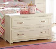 Belden End of Bed Dresser, Twin, White