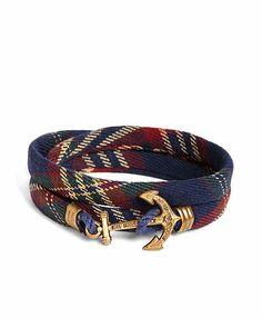 Brooks Brothers - Kiel James Patrick Signature Tartan Wrap Bracelet Joyería  Masculina 3662afa093cb0
