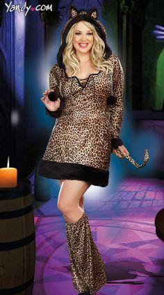 Plus Size Cheetah-Luscious Costume