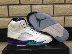 Buy Nike Air Jordan 5 Womens V White New Emerald Grape Ice Blue Shoes from Reliable Nike Air Jordan 5 Womens V White New Emerald Grape Ice Blue Shoes suppliers.Find Quality Nike Air Jordan 5 Womens V White New Emerald Grape Ice Blue Shoes Bling Nike Shoes, Nike Shox Shoes, New Jordans Shoes, Nike Shoes Outlet, Air Jordans, Nike Michael Jordan, Nike Air Jordan Retro, Jordan Shoes Online, Air Jordan Shoes