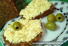 Lahodná francouzská celerová pomazánka. S čerstvým, křupavým pečivem delikatesa. Czech Recipes, Russian Recipes, No Salt Recipes, Baking Recipes, Healthy Snacks, Healthy Recipes, Salty Foods, Food Humor, Yummy Appetizers