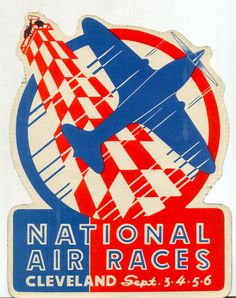 Vintage Air Race Poster