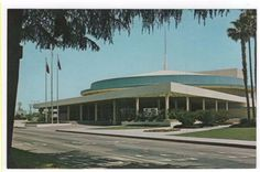 Bakersfield, California, Early View of The Civic Auditorium