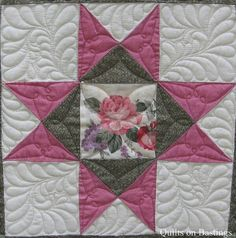 Great quilting for 8 point start
