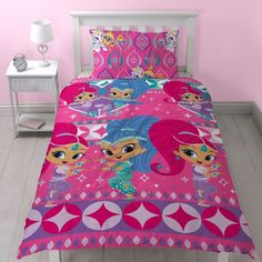 Shimmer & Shine Zahramay Single Quilt cover set. Available at Kids Mega Mart online shop Australia www.kidsmegamart.com.au