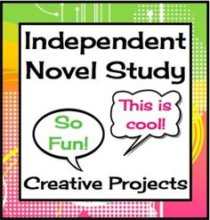 Independent Novel Study Project: This novel project allows students choice and flexibility in their assessment, and provides them with the opportunity to use their strengths to show their learning. Whether it be creating an art project surrounding their book, writing from a characters perspective, or filming a documentary, this project will allow your students to shine!