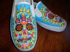 day of the dead shoes | Day of the Dead Shoes