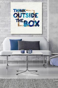 Think Outside Canvas Art on @HauteLook