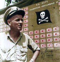 """John Thomas """"Tommy"""" Blackburn (1913 — March 21, 1994) was a World War II flying ace and first commanding officer of the famed F4U Corsair squadron VF-17 Jolly Rogers."""