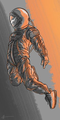 Kanye West - Yeezy - Digital Art - Space - Astronaut