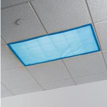 Do you have a classroom with students with special needs?  These nice filters will take the edge off the awful institutional lighting and make your room a much more welcoming environment.    Blue Classroom Light Filters - Set of 4
