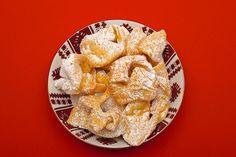 Claudia's Cookbook - Khrustyky  (Ukrainian Fried Cookies)