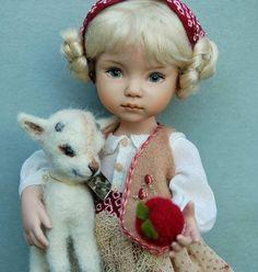 Child doll by Dianna Effner