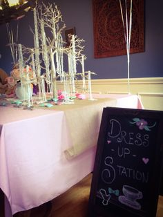 Dress Up Station - Tea for Two Birthday Party