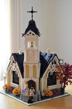 ~ Lego MOCs City ~ BrickLink MOC Item : Corner Church