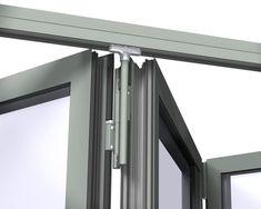 Baie vitrée coulissante / coulissante-empilable / en aluminium / à double vitrage CF 77 Reynaers Aluminium