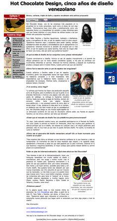 News Blog > Codigovenezuela.com - 2009 - Venezuela #hotchocolatedesign #design #fashion #moda #shoes #maryjanes #zapatos #hcd