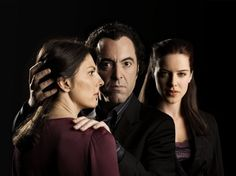 You like Sherlock? Go and give Jekyll a try! ;)  Gina Bellman as Claire Jackman, James Nesbitt as Tom Jackman and Michelle Ryan as Katherine Reimer