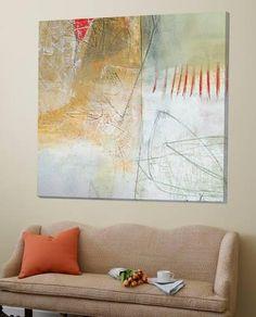 Loft Art: The field I by Jane Davies : Abstract Landscape Painting, Abstract Art, Jane Davies, Ceiling Murals, Artist Art, Collage, Canvas Wall Art, Decoration, Artwork
