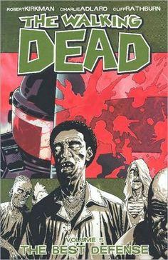 The Walking Dead, Vol. 5: The Best Defense by Robert Kirkman http://www.amazon.com/dp/158240612X/ref=cm_sw_r_pi_dp_PTkSub1XRHSJY