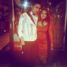 Ananya Tales: Local Events, Halloween events, Vampire couple, costume party