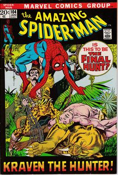 Amazing Spider-Man 104 1963 1st Series January 1972  Marvel