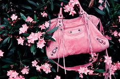 when I win the lottery the first purse I buy will probably be balenciaga. and it will probably be pink.