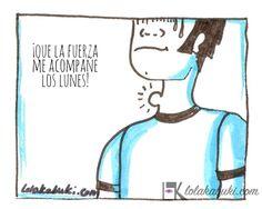 """""""INVOLUCIÓN"""" VIÑETAS DE HUMOR DE LOLA & TXABI   Lola Kabuki, arte personalizado """"Involución"""" son varias #viñetas de humor protagonizadas por Lola & Txabi. #Ilustraciones realizadas en #tinta negra y tinta azul para sombrear."""