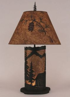Cabin Scene Nightlight Lamp
