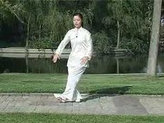 Tai Chi 42 Forms Part 2 - Teach - YouTube