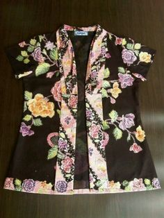 Black batik - encim fabrics