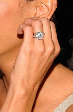 The Best Celebrity Engagement Rings :: Harper's BAZAAR