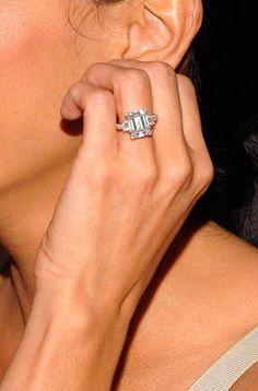 The Best Celebrity Engagement Rings :: Harper's BAZAAR
