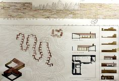 Fredensborg Houses : Jørn Utzon | Drawings by students at School of Architecture, University of Navarra (2011-2012) Jorn Utzon, Library Design, Good House, Master Plan, School Architecture, Drawings, Architects, David, Case Study