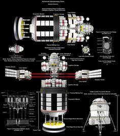Advanced Interplanetary Orion by wblack Bryce Science Fiction