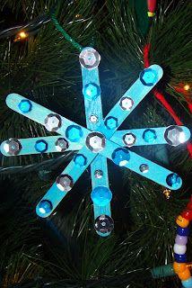 Wooden Craft Stick Ornaments