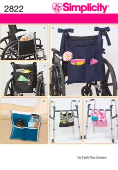More bags for walkers or chairs Simplicity : 2822