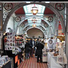 Inside Camden Lock Market, Camden Town, London, England