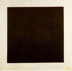 Kazimir Malevich - Carré noir sur fond blanc (1915)